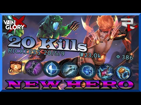 *New Hero Shin! 20 Kills Without Feeling Overpowered! Vainglory 5v5