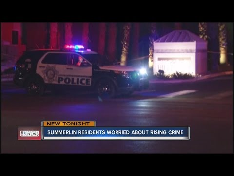 Summerlin residents worried about rising violent crime