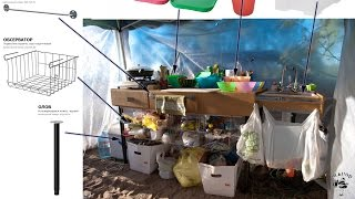 [Camping] Полевая кухня / стол для кемпинга(, 2016-07-09T14:07:34.000Z)
