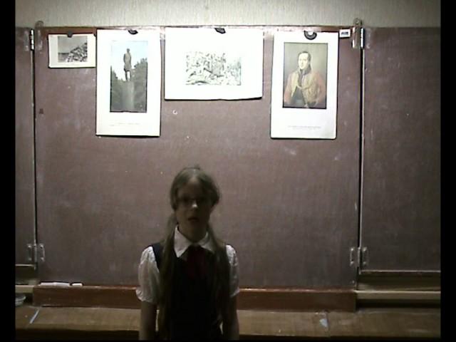 Изображение предпросмотра прочтения – АннаПоплёвкина читает произведение «Парус (Белеет парус одинокий…)» М.Ю.Лермонтова