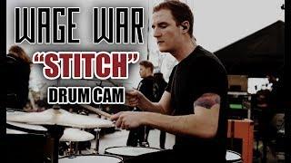 wage war stitch drum cam live
