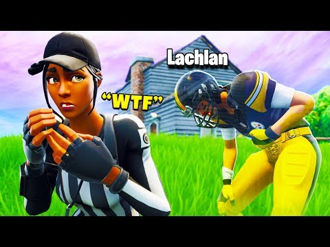 So Lachlan & I pranked a PRO Player..