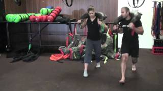 Leg Blaster workout with Bulgarian Bags