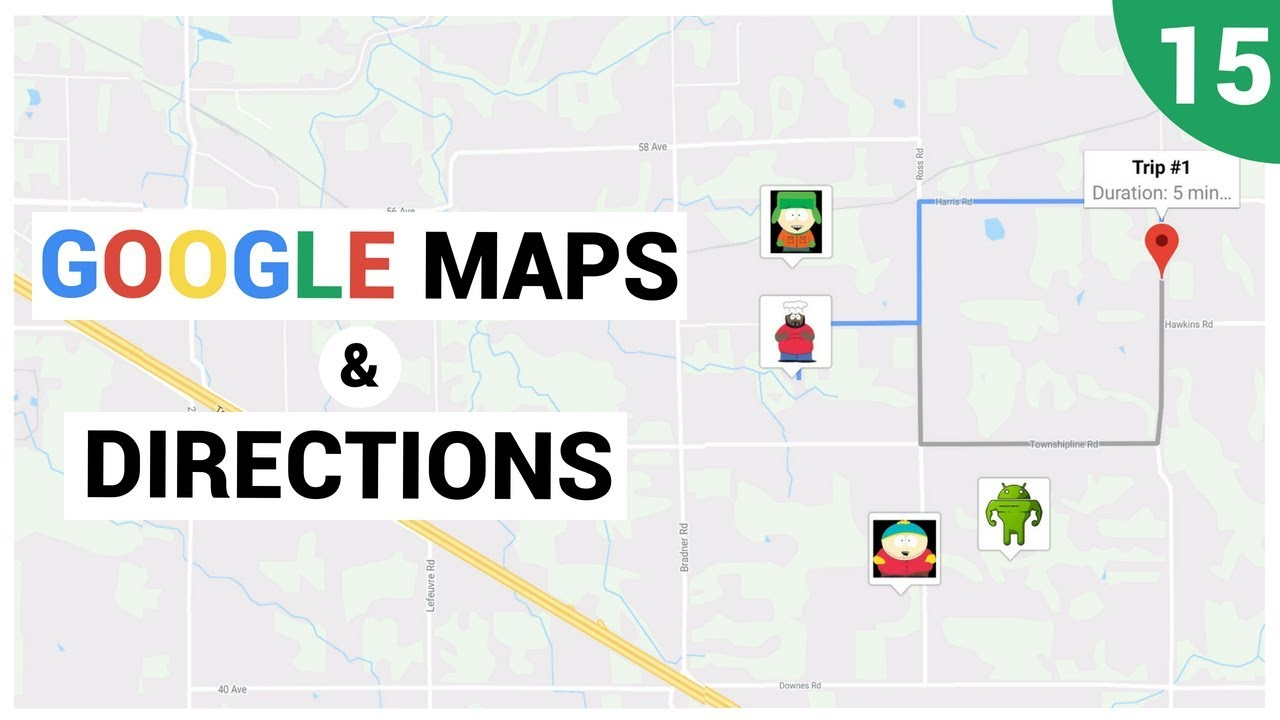 Realtime Gps Updates On A Google Map Youtube