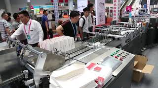 Paper Bag Making Machine Production Line | Paper Handle Making Machine