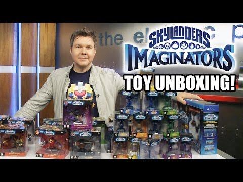 Skylanders Imaginators Toy Unboxing!