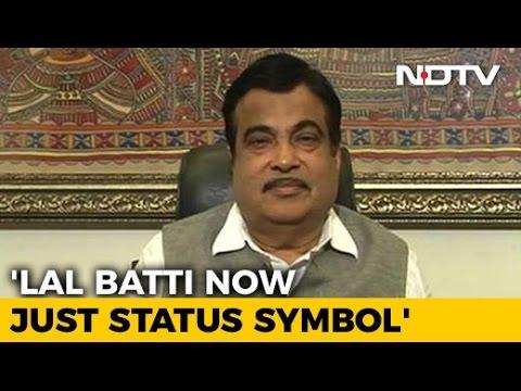 Banning Lal Battis Will Start New Era Of New Politics: Transport Minister Nitin Gadkari