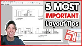 5 MOST IMPORTANT TIPS for Modeling for Layout in SketchUp
