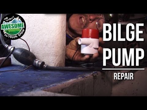How to fix a bilge pump for boats | TA Outdoors