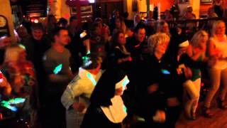 Cotton Ball Fr Ted Night dancing priest flash mob