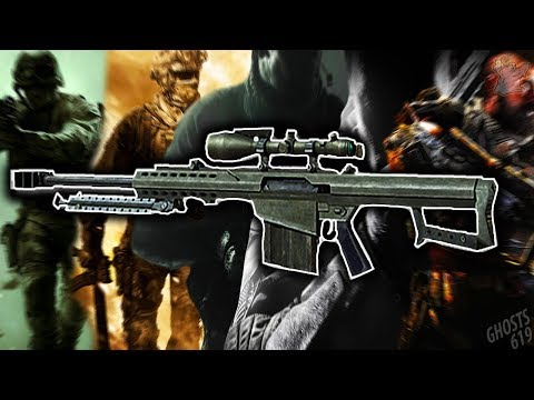 The Evolution Of The Barrett .50 Cal In Call Of Duty