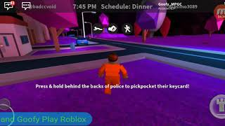 I made a Best Friend!!! (Goofy plays) Roblox: Jailbreak
