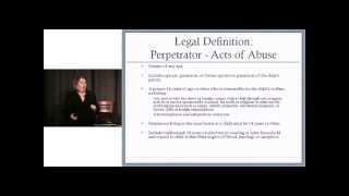 Child Abuse Perpetrators PA Definition
