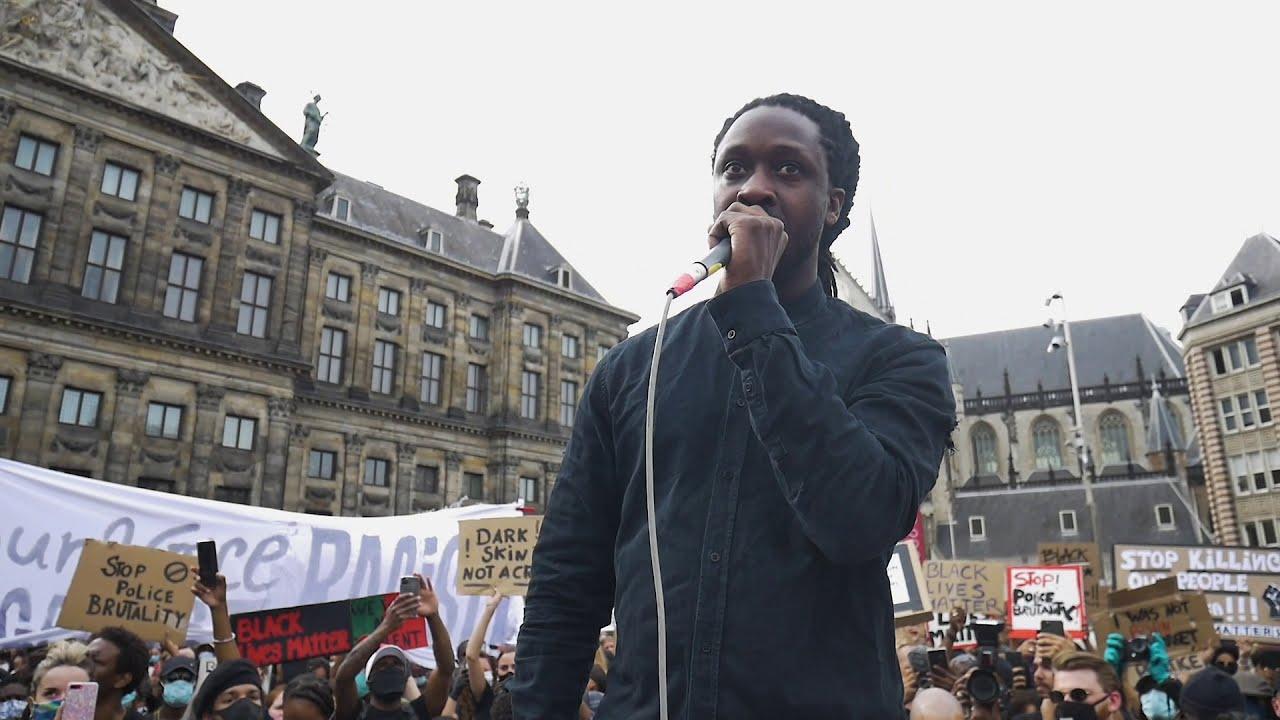 Download Akwasi - Black Lives Matter Protest 2020 - De Dam, Amsterdam