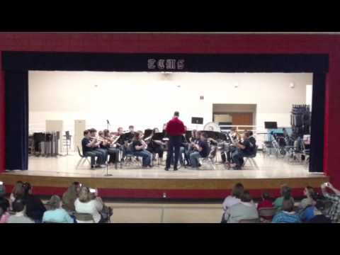 East Carter Middle School 6th grade band 2016