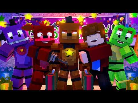 Minecraft FNAF 6 Pizzeria Simulator - ROCKSTAR FREDDY IS BACK?! (Minecraft Roleplay)