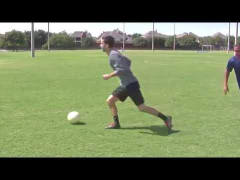 Hướng dẫn đá bóng – Kỹ thuật  Vê bóng, đột ngột chuyển hướng