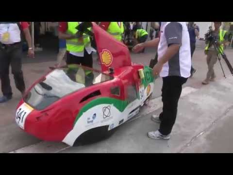 UAE's students participation in Shell Eco Marathon Asia 2015 ( HCT- Ruwais)