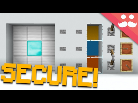 Making The MOST SECURE DOOR In Minecraft!