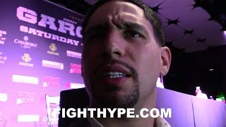"""I'LL BREAK YOUR FACE"" - DANNY GARCIA GETS SAVAGE ON BRANDON RIOS IN SPANISH; REACTS TO FACE OFF"