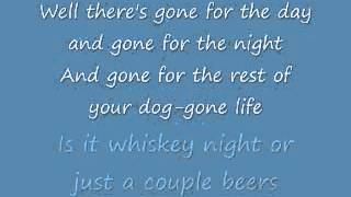 What Kinda Gone ~ Chris Cagle YouTube Videos