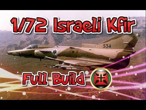AlexModeling 1/72 Italery Kfir c7 Complete build!