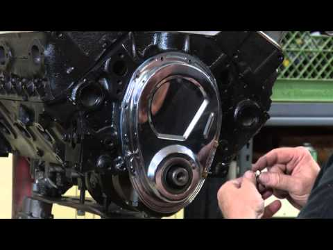 How to install a timing chain cover.