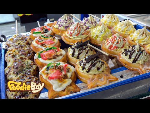 Handmade Waffle / Korean Street Food / Keunaegi Night Market, Ulsan Korea