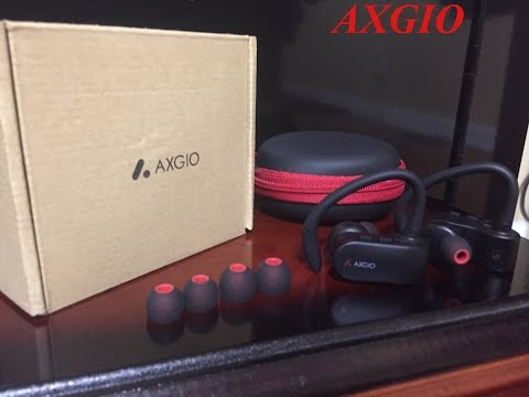 AXGIO Wireless Earbuds Dash Cordless Bluetooth Headphones V4.1 For IPhone 7, Samsung, LG, Android