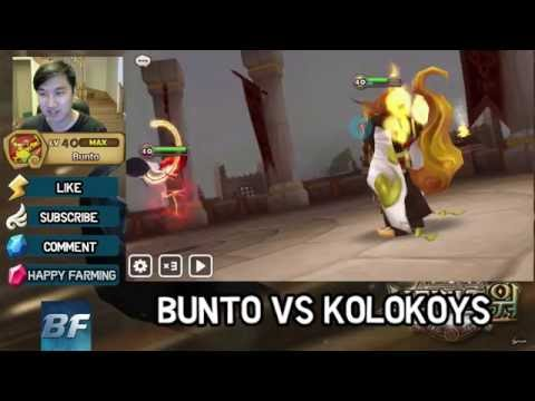Summoners war - Guildwar - Bunto VS Kolokoys - R5 Hwa in guildwars