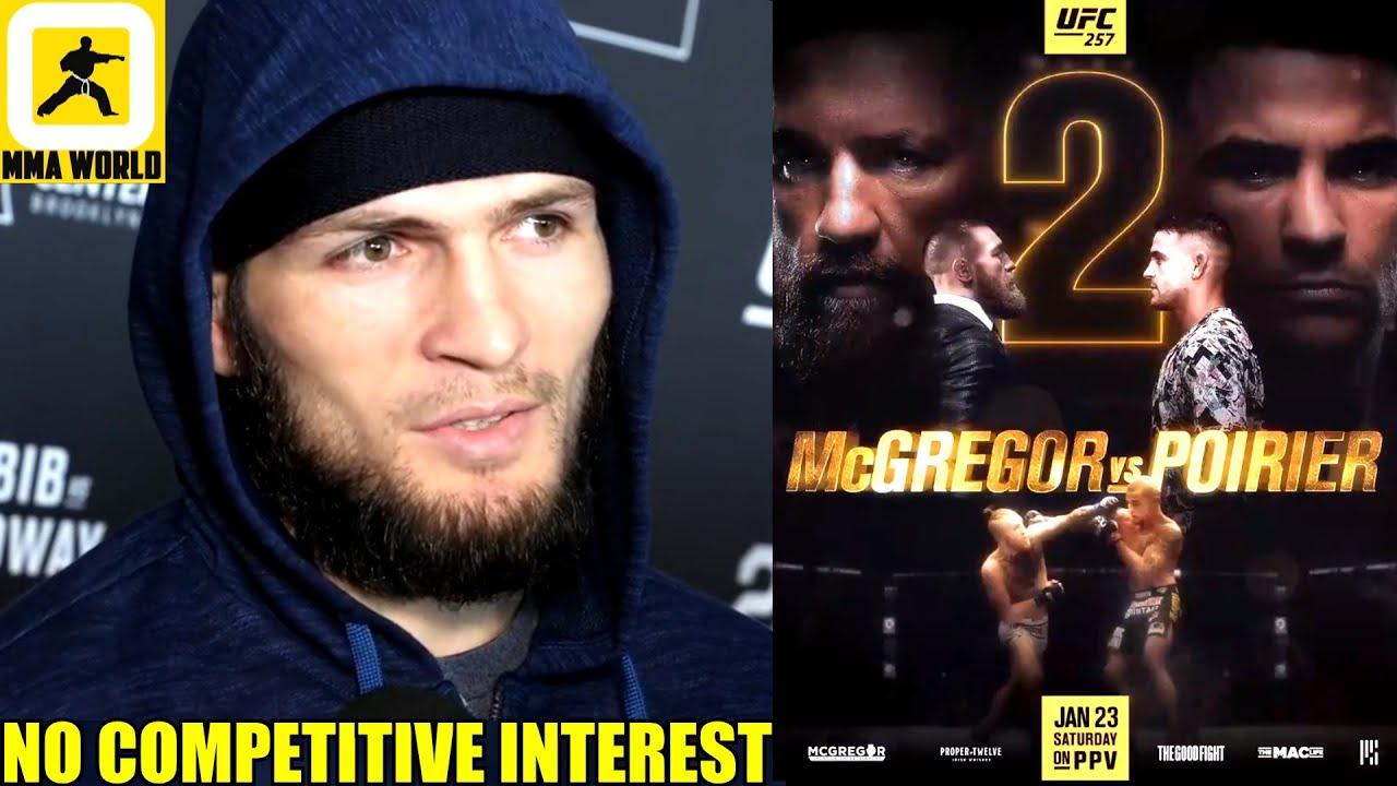 White: Khabib won't stick around to watch McGregor at UFC 257, will ...