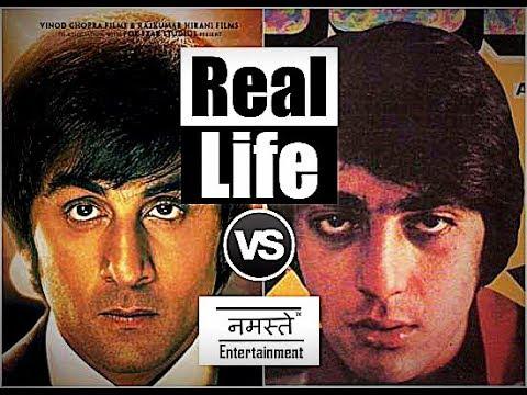 Sanju   Movie Trailer vs. Real Life   Sanjay Dutt   Feat ...