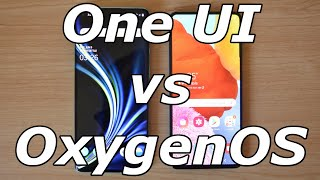 Samsung One UI vs OnePlus OxygenOS