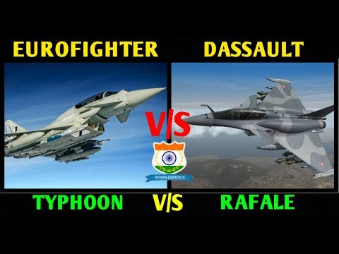 Indian Defence News,Rafale vs Eurofighter,Dassault Rafale vs Eurofighter Typhoon,Defense News,Hindi