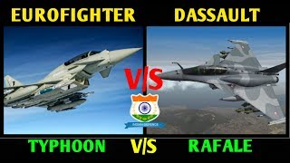 Indian Defence News,Rafale vs Eurofighter,Dassault Rafale vs Eurofighter Typhoon,Defense News,Hindi