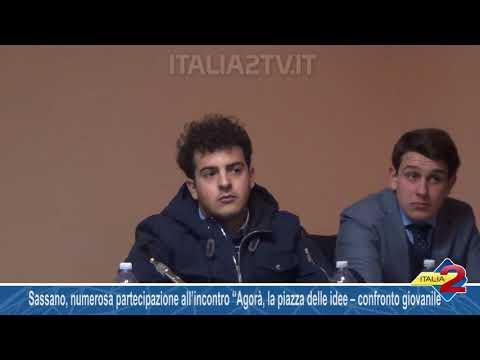 """Sassano, numerosa partecipazione all'incontro """"Agorà, la piazza delle idee – confronto giovanile"""""""