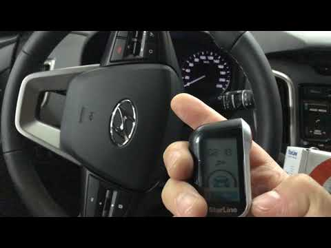 Hyundai Creta, StarLine A93 - сигнализация с автозапуском. Обзор установленной охранной системы