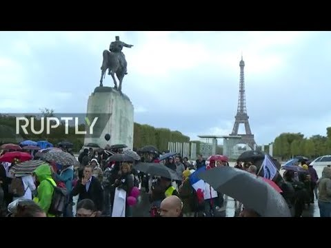 LIVE: French policemen take to the streets demanding better working conditions