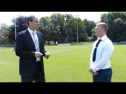 Q&A with Martin Johnson ~ Bishop Burton College