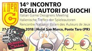 Vlog di Chiara: IdeaG 2018 (Ponte Taro - PR)
