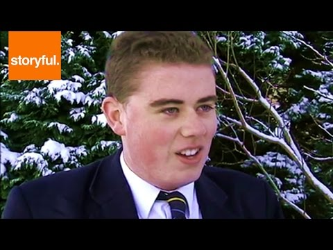 "Irish Schoolboy With Thick Accent Warns of ""Frostbit"""