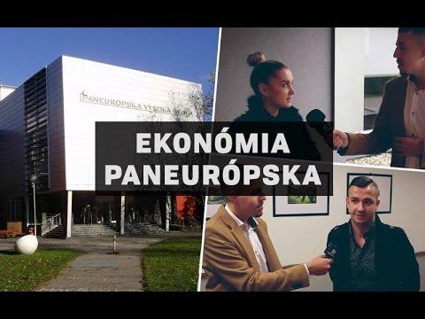 KAM NA VÝŠKU: Fakulta ekonómie a podnikania - Paneurópska…