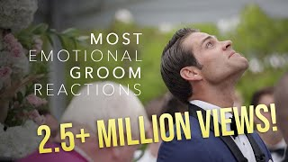 The BEST Groom Reactions to Their Brides!!!