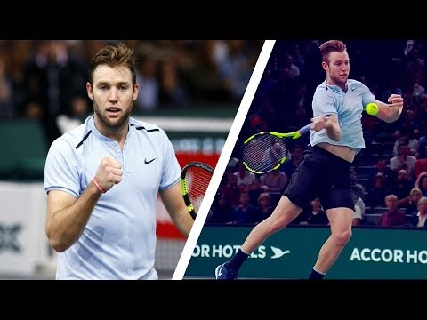 Jack Sock - BEST Forehand Winners (60FPS)