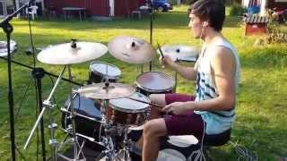 Albin - Din Soldat ft. Kristin Amparo - Drum Cover