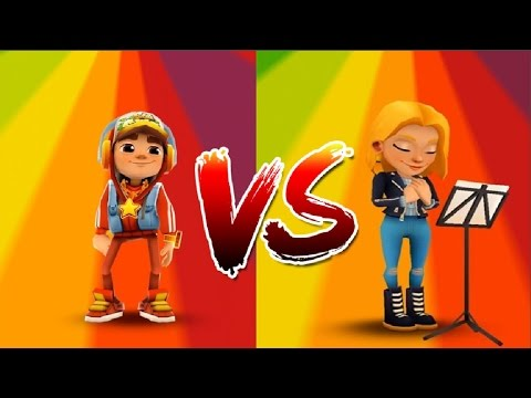 Subway Surfers Copenhagen Freya VS Jake Прохождение 4