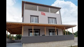 Hem köy hem şehir-Satılık 3 katlı müstakil ev,tripleks villa,şehir kenarı köy kenarı-FİYAT:480 BİN