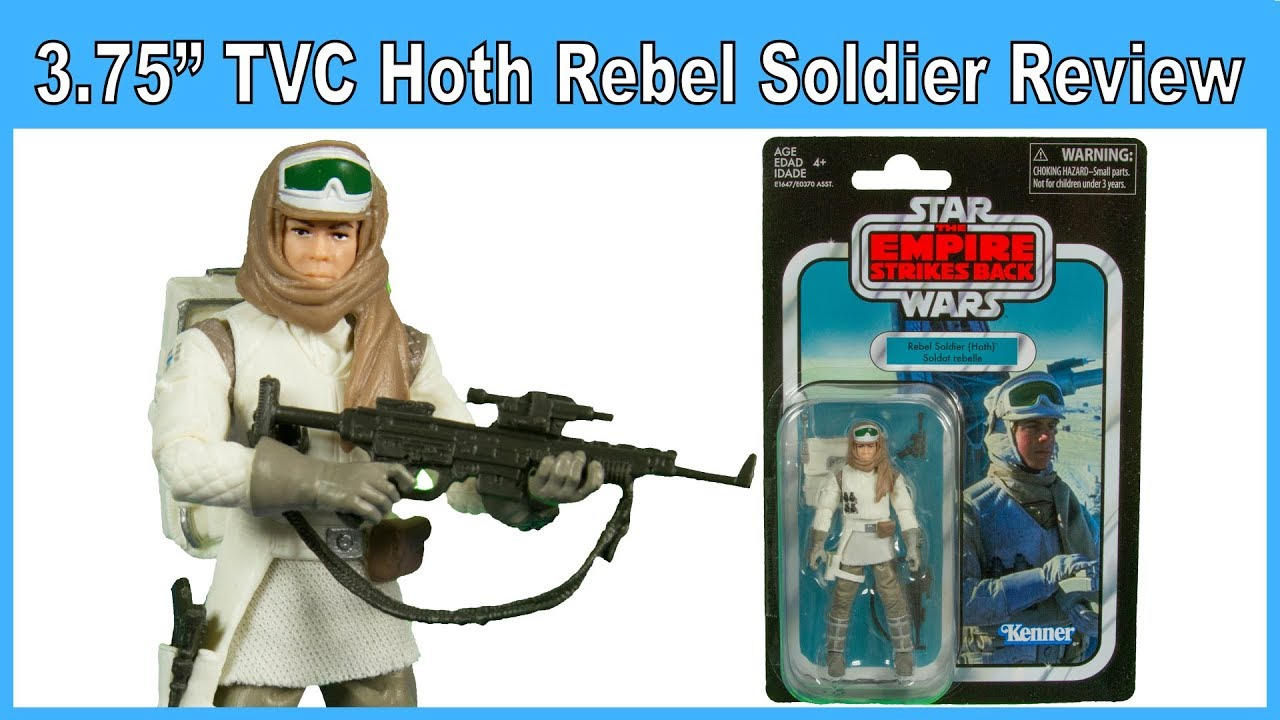 inch Figure Star Wars The Vintage Collection REBEL TROOPER 3.75 Hoth