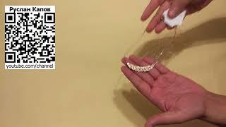 Бижутерия. Колье золотого цвета на цепочке мелкого звена мелкого плетения. Посылка из китая.