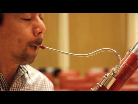 Warming up the bassoon with Danny Matsukawa of the Philadelphia Orchestra